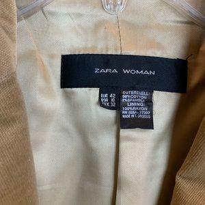 Zara Jackets & Coats - Zara blazer jacket velvet corduroy elbow patch